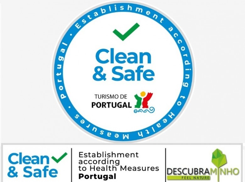 Descubra Minho empresa com certificado Clean & Safe do Turismo de Portugal